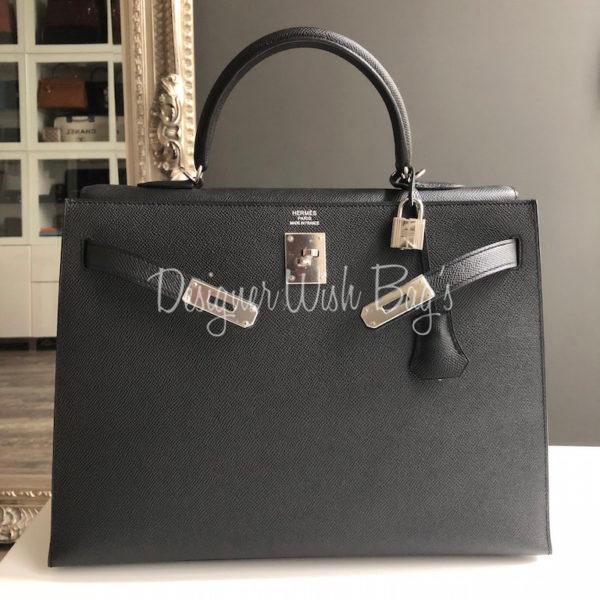 ac1dc8e23520 Hermès Kelly Sellier Black Epsom. IMG 3773. IMG 3775. IMG 3749. IMG 3762