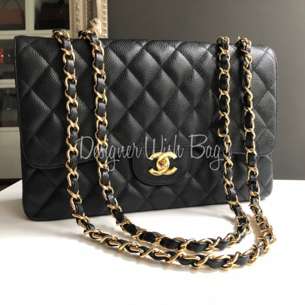 2a16e1088a1186 Chanel Jumbo Single Flap Caviar. IMG_3914. IMG_3910. IMG_3893
