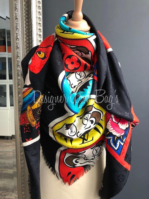 3417215e Louis Vuitton Kabuki Stickers Shawl -