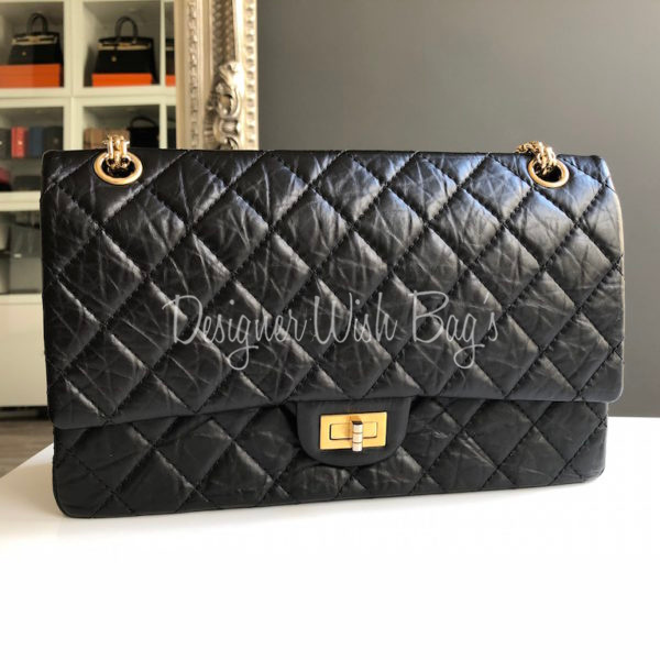 567ee46d9558 Chanel Reissue 2.55 Black -