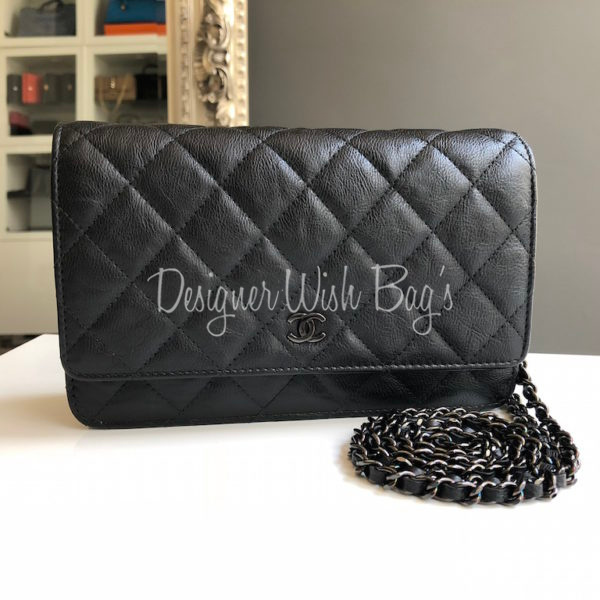 2b21745ff35c Chanel WOC So Black Crumpled Calf. IMG_8618. IMG_8637. IMG_8619