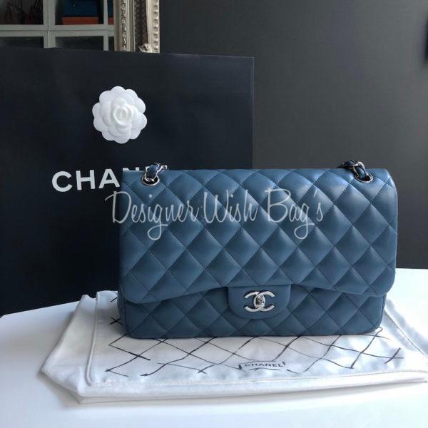 b64ab92d3216 Chanel Jumbo Blue Denim. IMG_9168. IMG_9186