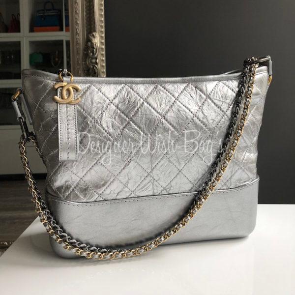 50810ffac404d1 Chanel Gabrielle Silver -
