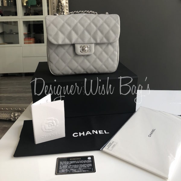 caee8c67d2ce Chanel Flap Bag Grey 18C. IMG_5139. IMG_5116