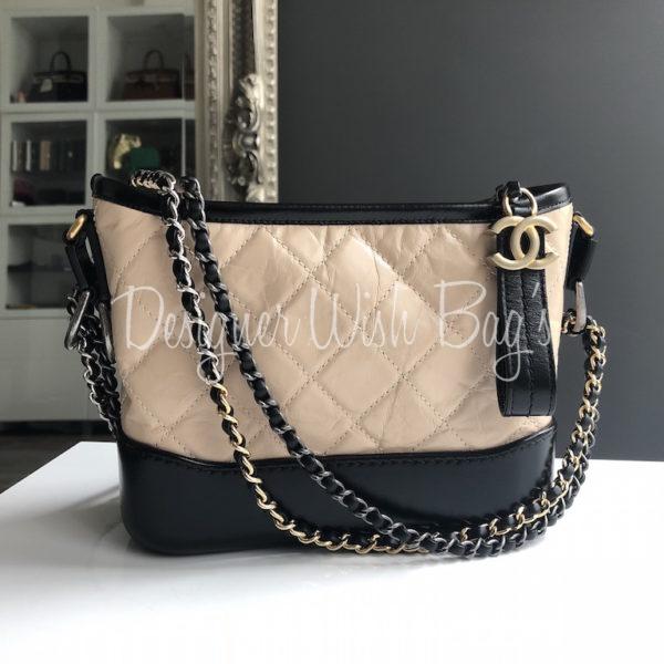 e14f364dd272 Chanel Gabrielle Small Beige/Black -