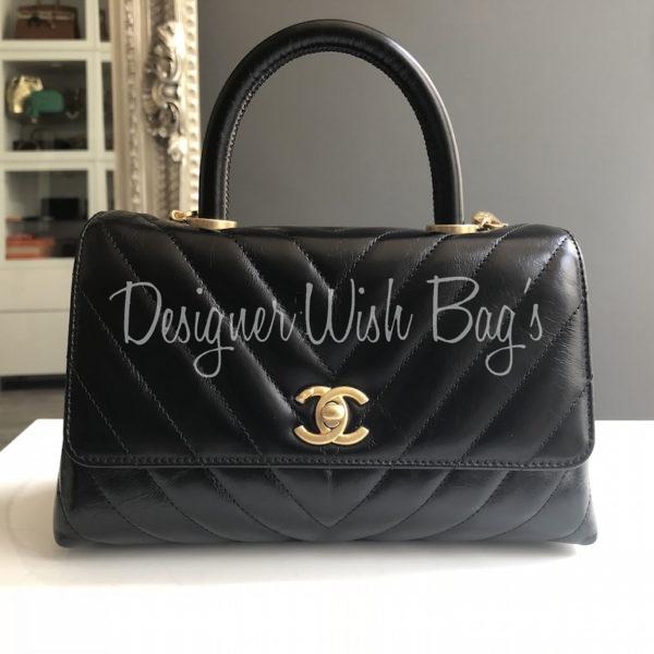 fdb903cdedb52 Chanel Coco Handel Chevron Black. IMG 7125. IMG 7126. IMG 7127