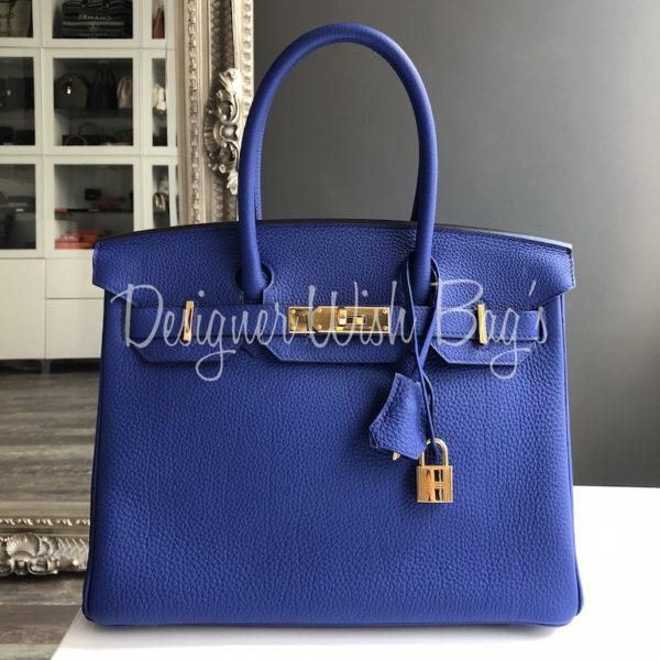 5f14286a8e0e Hermès Birkin 30 Bleu Electrique. IMG 2456. IMG 2454. IMG 2426