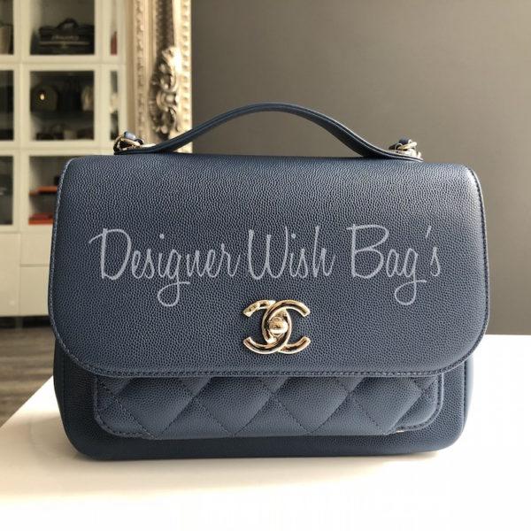 ccf7d3731916 Chanel Business Affinity Blue -