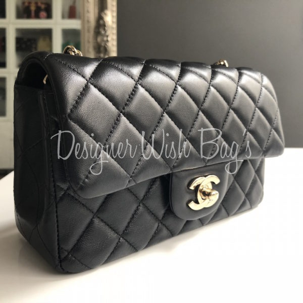 0459c0f7ae76 Chanel Black Mini 18S -