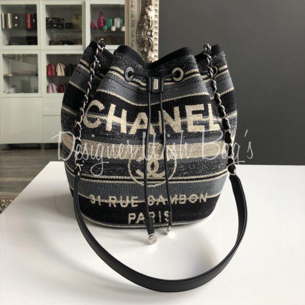 a24fb22aad6e Chanel Drawstring Bag Metiers D'Art 2018 -