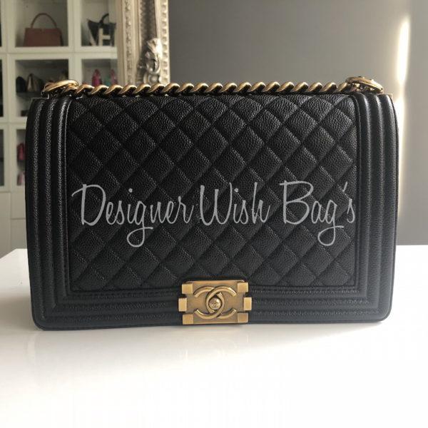 18d97d43ddef Chanel Boy Black Caviar GHW. IMG_1274. IMG_1257. IMG_1258