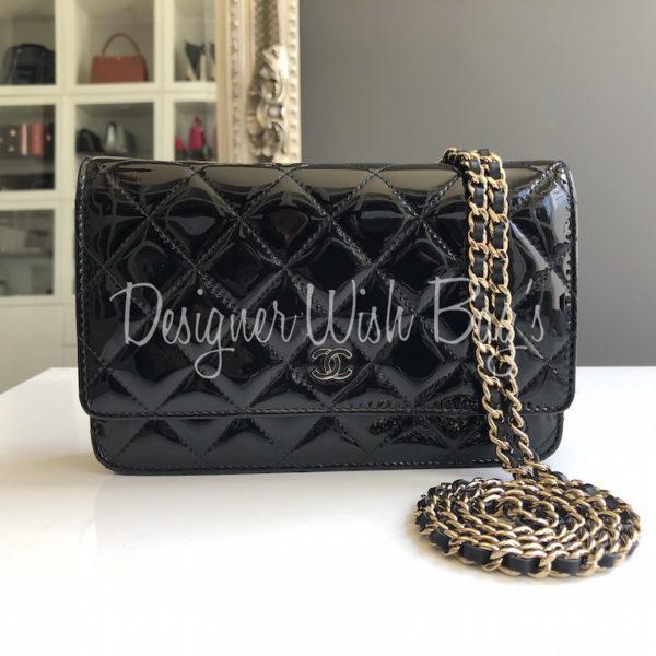 06ed5331d173 Chanel WOC Black Patent -