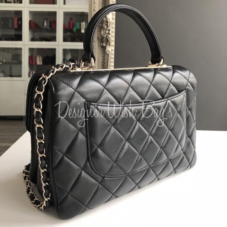 b9754ac35ca8e Chanel Trendy CC Medium Black -