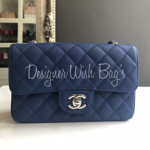 1749fda256bf97 Chanel Mini Blue Caviar C18. IMG_4244. IMG_4219. IMG_4221