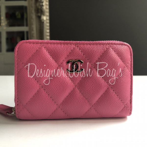 0d36bd80728 Chanel Zip Wallet Coin Purse Pink 19C. IMG 8591. IMG 8579. IMG 8585