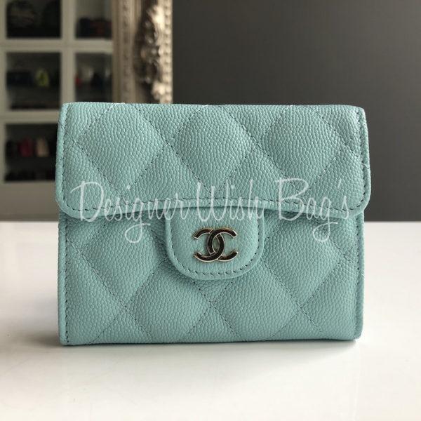 b55e26e46c8 Chanel Wallet Coin Purse Tiffany Blue. IMG 9068. IMG 9062. IMG 9059