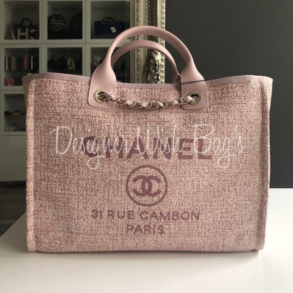 a4c72125a2dc Chanel Deauville Pink 19C -