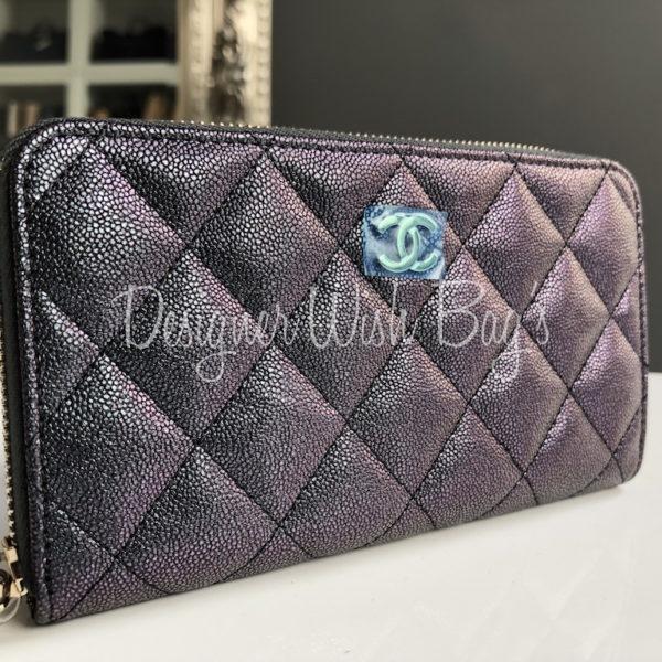 477509f16ee7 Chanel Wallet Iridescent 19S -