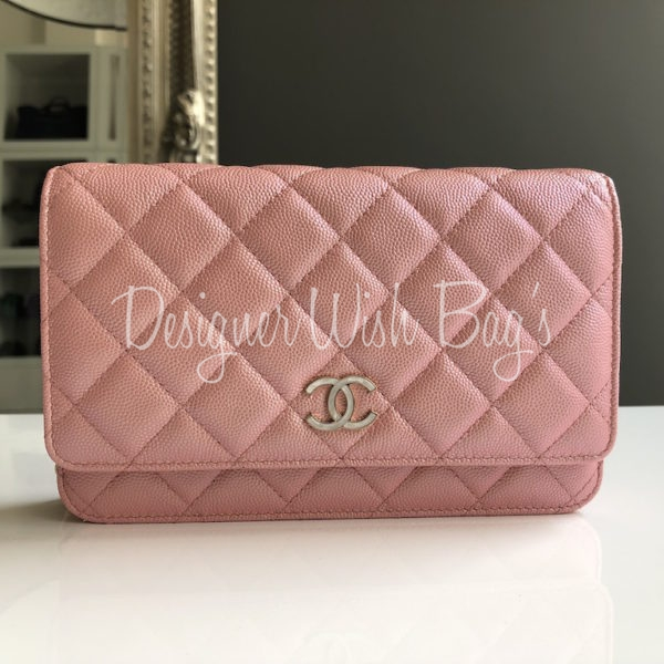 9e3563333774 Chanel WOC 19S Pink Iridescent -