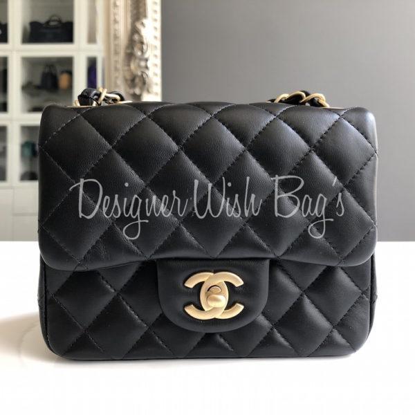 3b88c6139738 Chanel Mini Black Square 19S. IMG_1353. IMG_1334. IMG_1337
