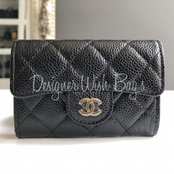 57275a9a1432 Chanel Coin Purse Black Caviar GHW. IMG_1404. IMG_1406. IMG_1409