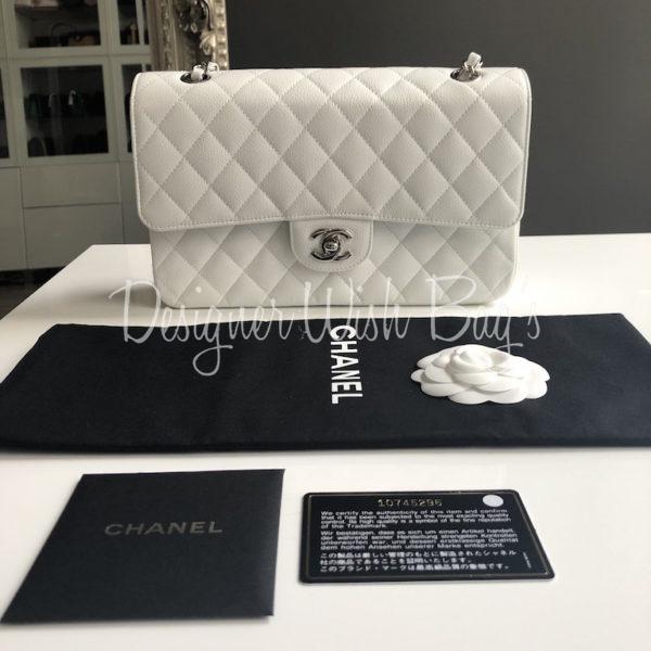 e860dd0f079c Chanel Classic Medium White Caviar. IMG_1766. IMG_1770