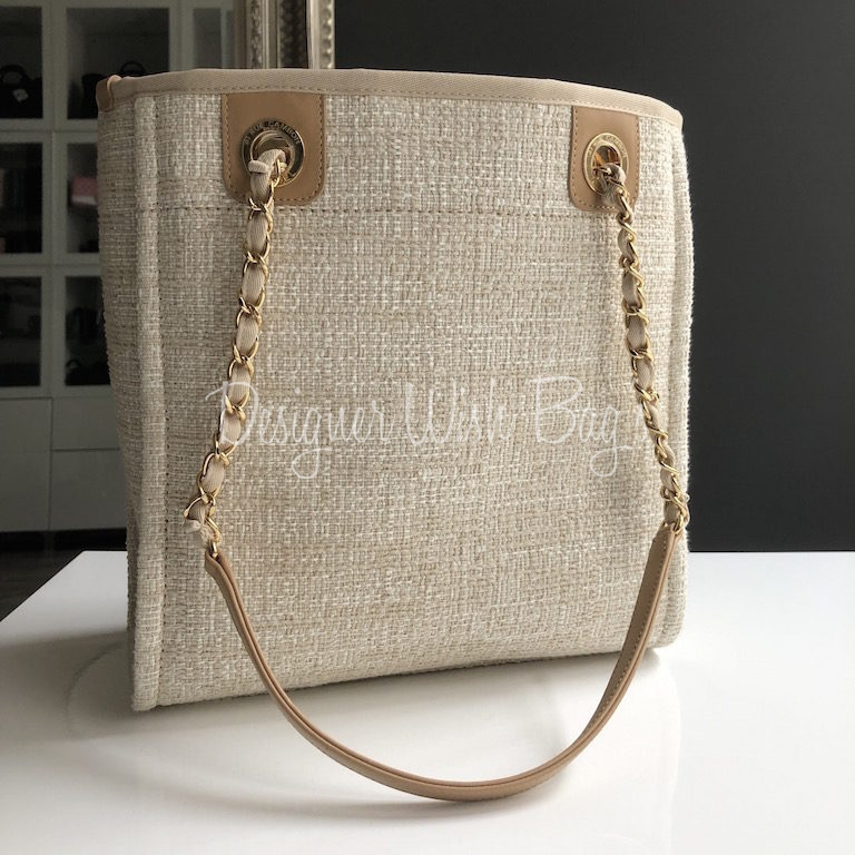 2894a5cfd310 Chanel Deauville Tote Small -