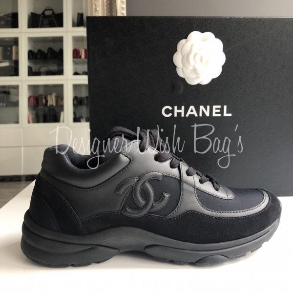Chanel Trainers Black New 39 - Designer